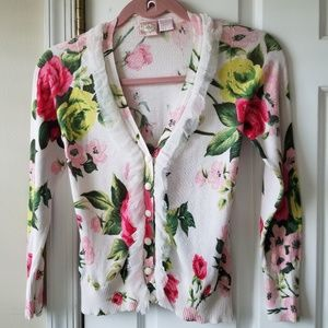 Floral sweater Sz.S